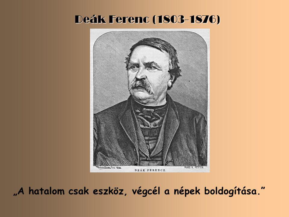 """Kölcsey Ferenc (1790-1838) """" Az élet jól megfontolt, de biztos lépéseket kíván."""