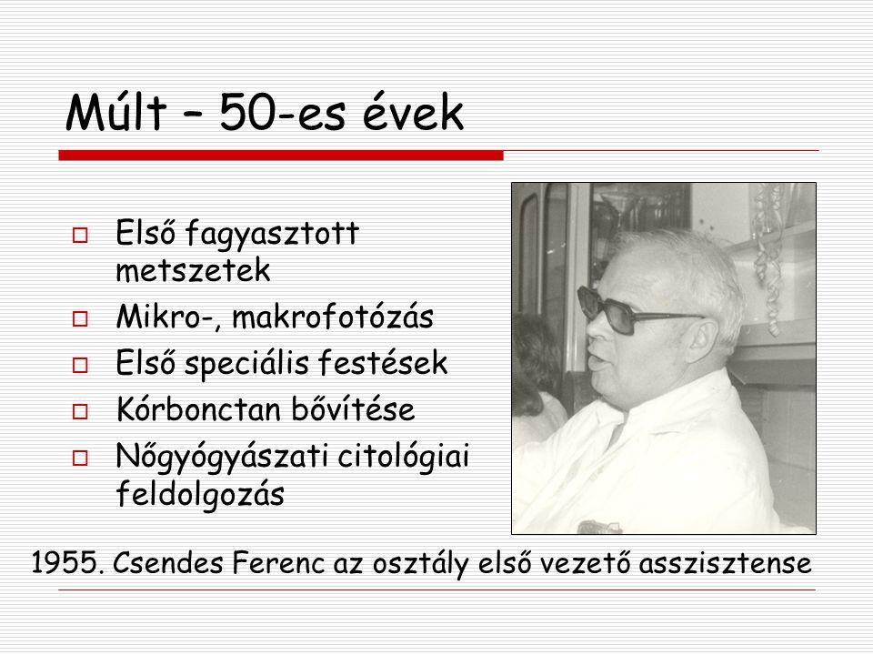 A Patológia 50 éves évfordulója, Zala Megyei Kórház 2003.