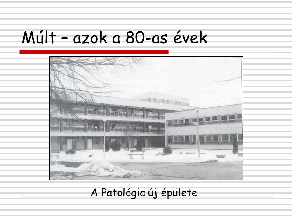 Múlt – azok a 80-as évek 1986.Dr. Sipos József osztályvezető főorvos 1987.