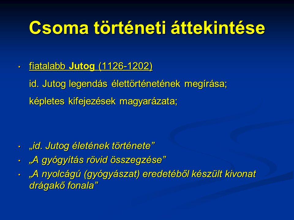 Beszámolók a tibeti gyógyászatról G.Tucci és E.