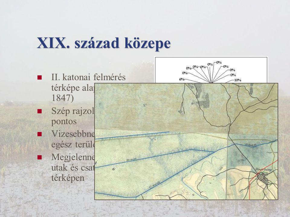 XIX.század közepe  II.