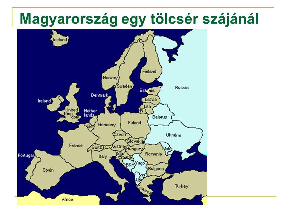 Magyarország egy tölcsér szájánál