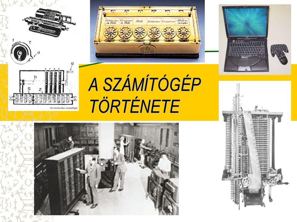 Neumann János elsőként foglalta össze a modern számítógép technikai és elvi követelményeit: A számítógép legyen teljesen elektronikus.