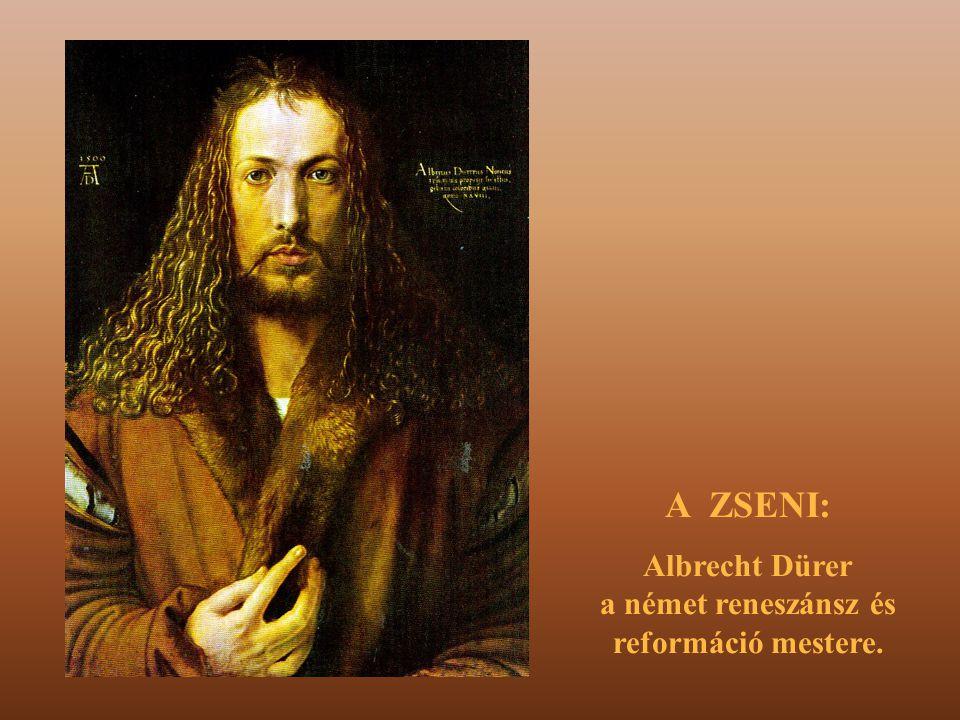 """Az A,B,C negyedik betűje a """"D , első betűje az """"A , Dürer 1514-ben készítette a bűvös négyzetet, erre utal a belső két szám."""