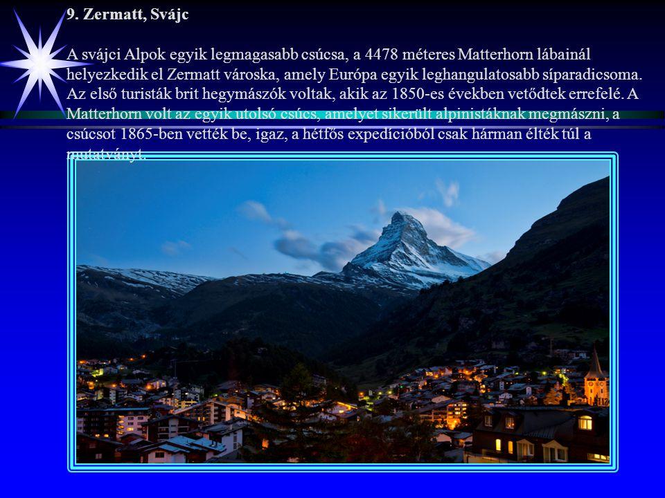 8. Kotori-öböl, Montenegró Légvonalban ezer kilométer, de a látványért érdemes többet is megtenni. A parányi Mamula-szigeten található várrom annyira