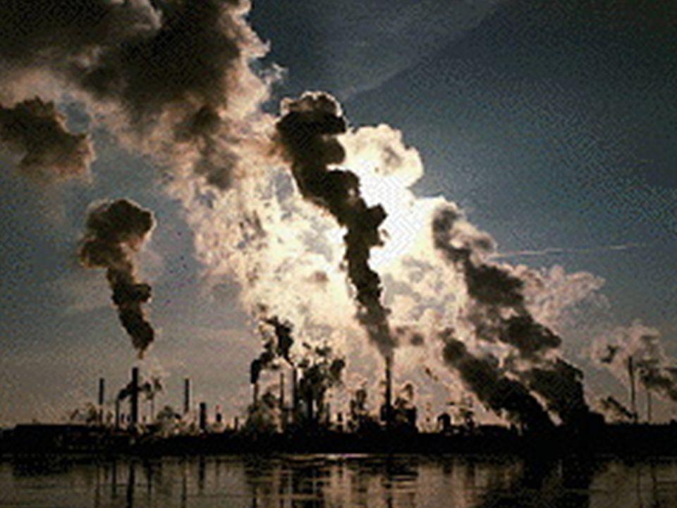 Az ipari tevékenység környezetszennyező hatása  A civilizáció napos oldala a kényelmes lakás (telefon, hűtőszekrény, teljes infrastruktúra, az autó,