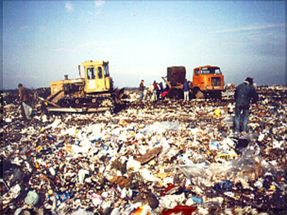 A hulladék felgyülemlésének hátrányos hatásai Talajvíz-szennyezés Levegőszennyezés Robbanásveszély Égetéskor keletkező melléktermékek A hulladékból ki