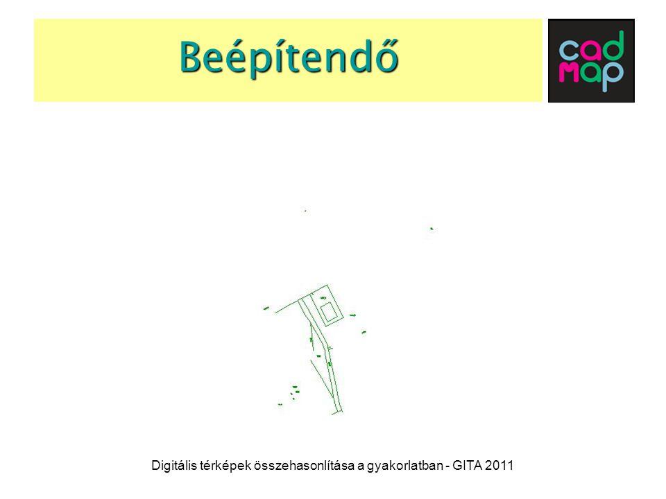A végleges állapot Digitális térképek összehasonlítása a gyakorlatban - GITA 2011