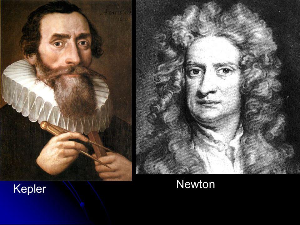 Kepler Newton