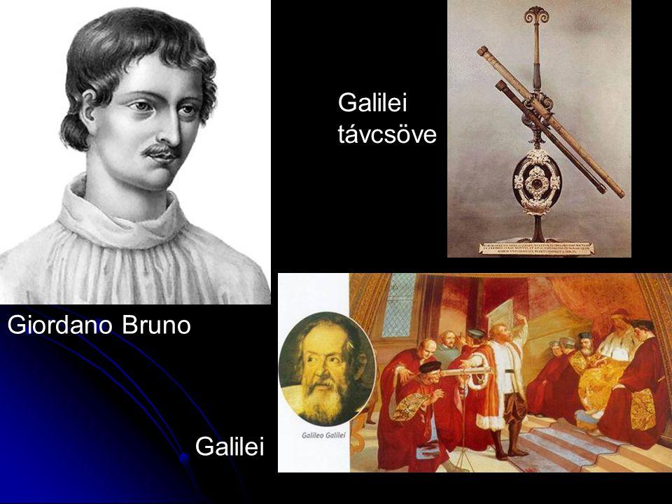 Giordano Bruno Galilei távcsöve Galilei