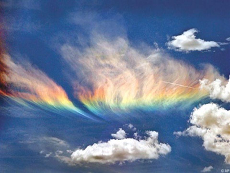 Előfordul, hogy a szivárvány ív formája is megváltozik, repülőgépből nézve körnek látszódik, vagy ún.