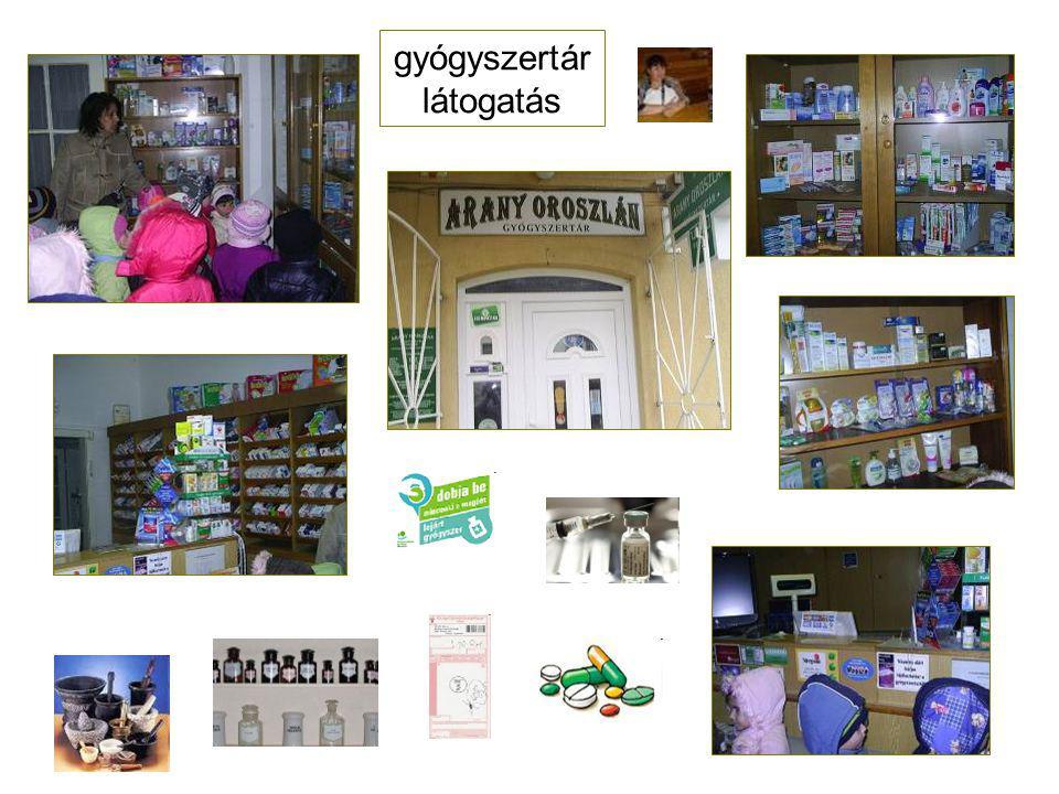 gyógyszertár látogatás