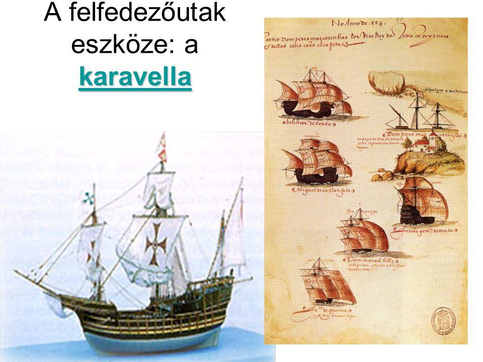 karavella A felfedezőutak eszköze: a karavella