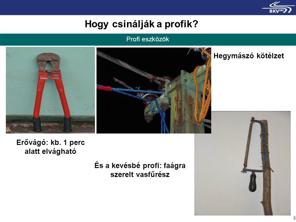 7 Sok munka, drága anyag Helyreállítás A több, részleteiben elvágott tápkábel sok esetben egy-egy hosszabb darabbal pótolható