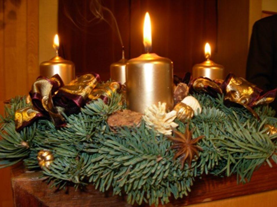 A harmadik vasárnap angyala Advent harmadik vasárnapján egy fehér ragyogó angyal jön le a földre. Jobb kezében egy fénysugarat tart, amelynek csodálat