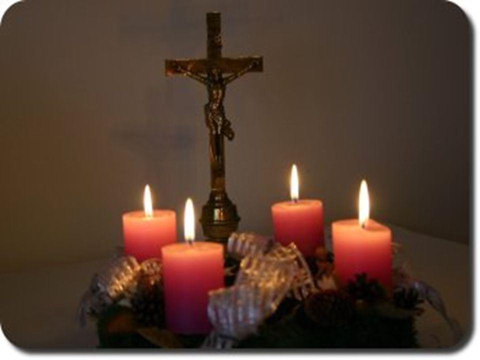 A negyedik vasárnap angyala A karácsony előtti utolsó vasárnap egy nagy, lila lepelbe öltözött angyal jelenik meg a mennybolton, és járja be az egész