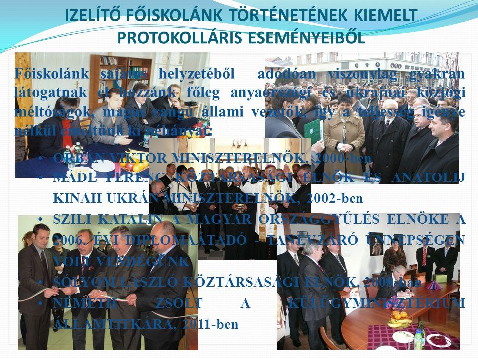 AZ EU NAGYKÖVET ÉS A TAGÁLLAMOK NAGYKÖVETEINEK LÁTOGATÁSA 2010-ben az Ungvári Magyar Főkonzulátus és a Beregszászi Magyar Konzulátus főkonzuljai kíséretében a főiskolára látogattak az EU-s tagállamok nagykövetei.