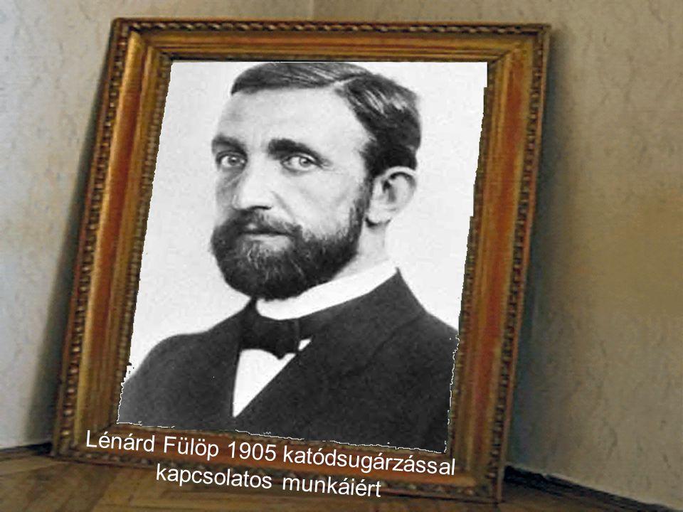 Bárány Róbert Lénárd Fülöpöt Bárány Róbert követte.