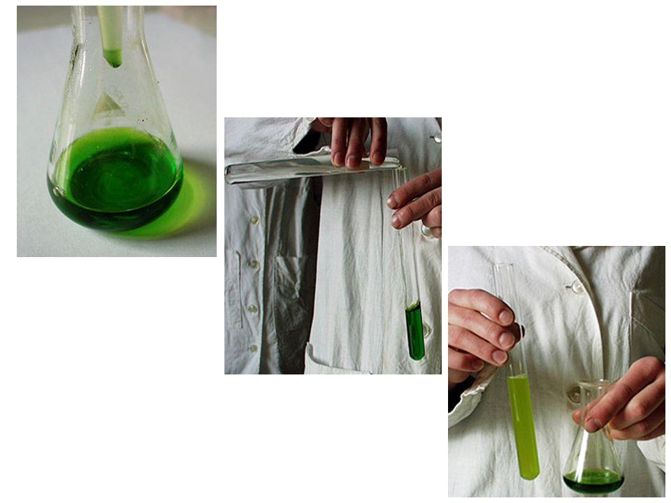 3) Ha a klórt vízbe vezetjük, klóros vizet nyerünk.
