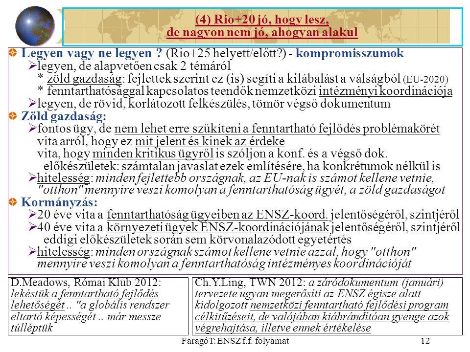 FaragóT: ENSZ f.f. folyamat12 Legyen vagy ne legyen .
