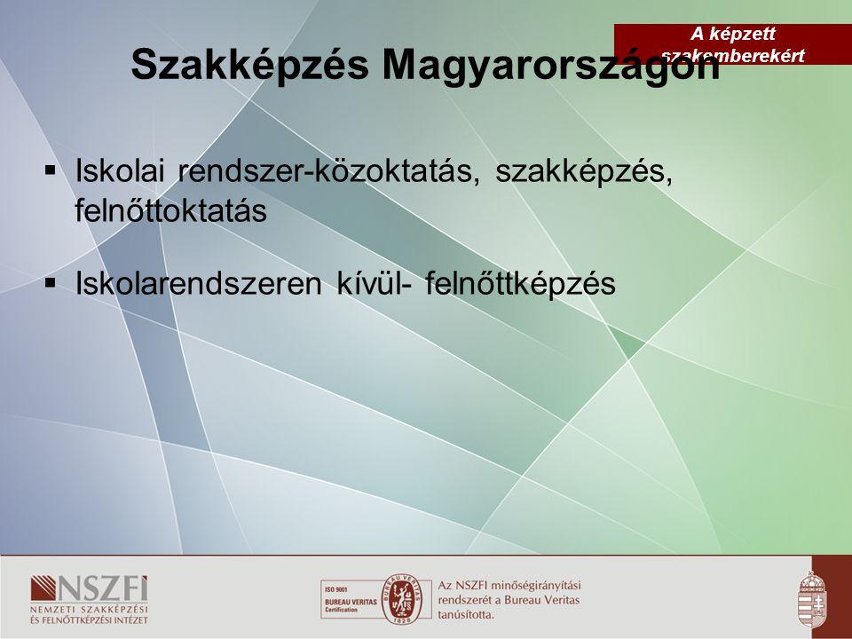 A képzett szakemberekért Szakiskola (11-12-13.