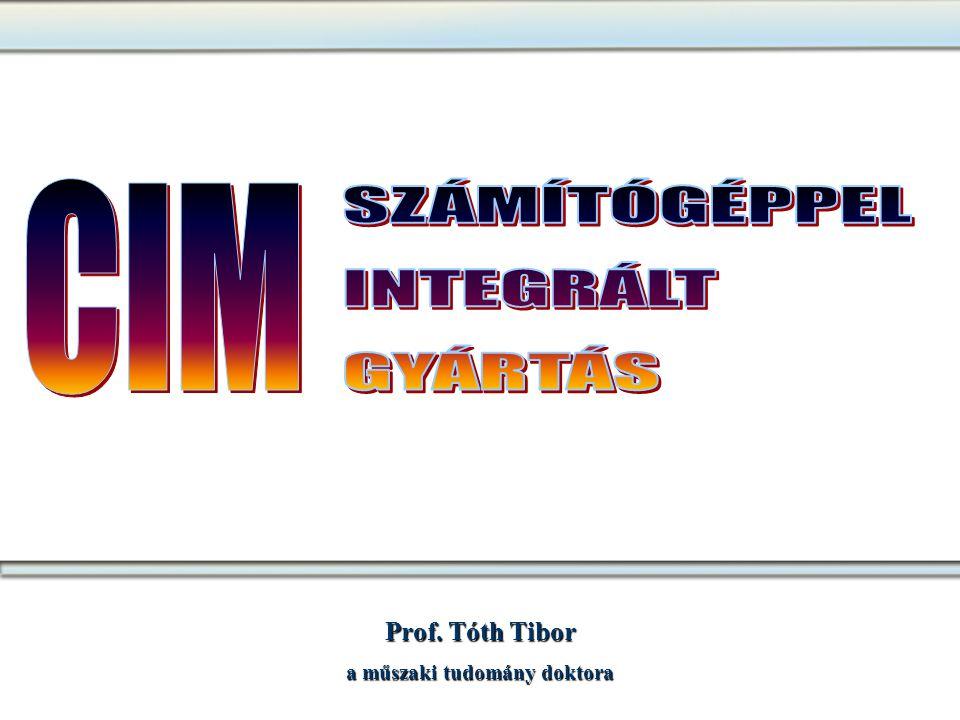 Prof. Tóth Tibor a műszaki tudomány doktora