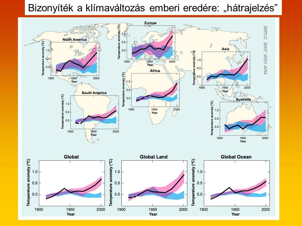 """Bizonyíték a klímaváltozás emberi eredére: """"hátrajelzés"""