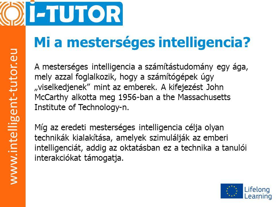 www.intelligent-tutor.eu 7 Mi a rapid prototyping.