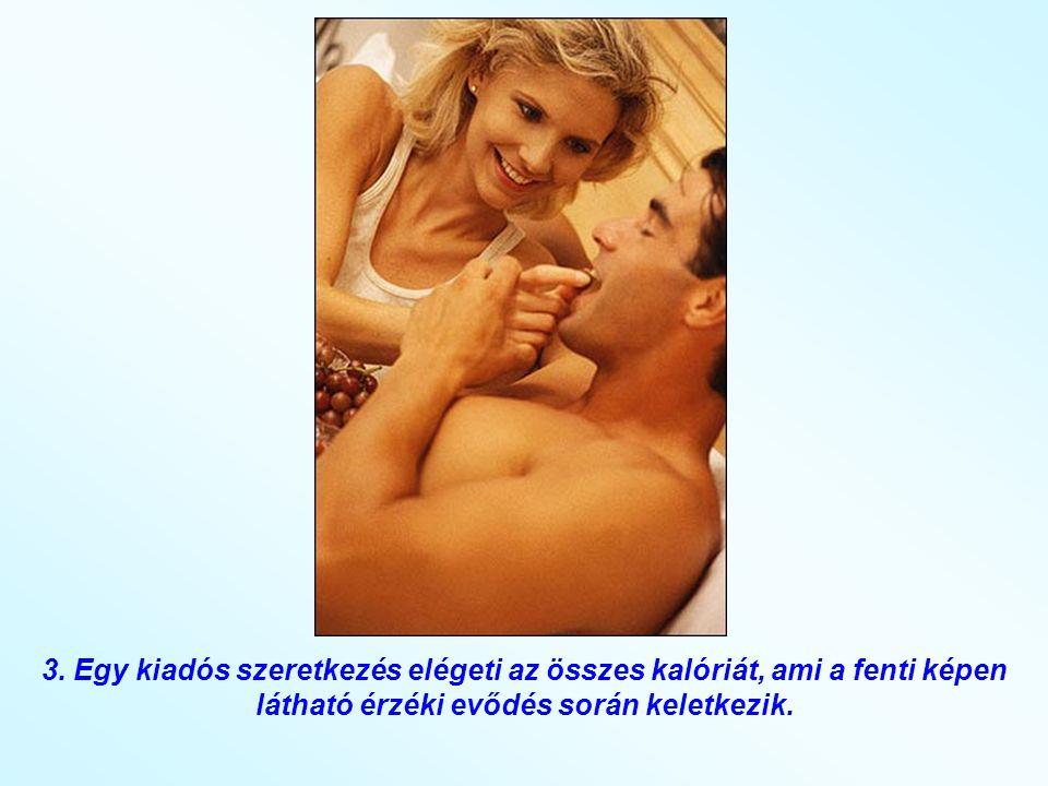 2. A laza, gyengéd sex csökkenti a bőrgyulladás és miteszerek kialakulását. A sex közben keletkező izzadság tisztítja a pórusokat és fényesebbé teszi