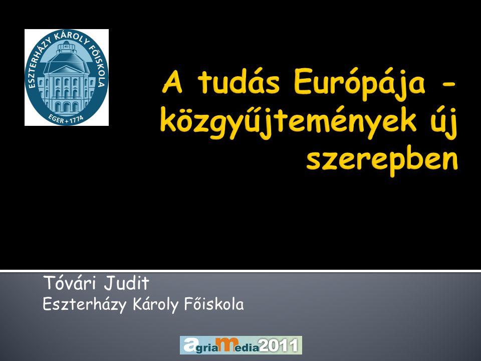 Tóvári Judit Eszterházy Károly Főiskola
