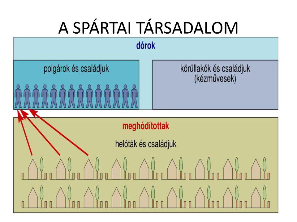 A SPÁRTAI TÁRSADALOM