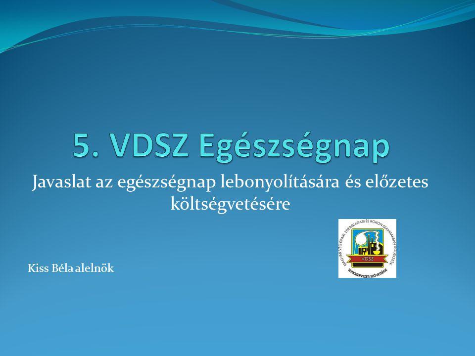 Felhívás  A VDSZ 2012.szeptember 1-jén a Chinoin Zrt.