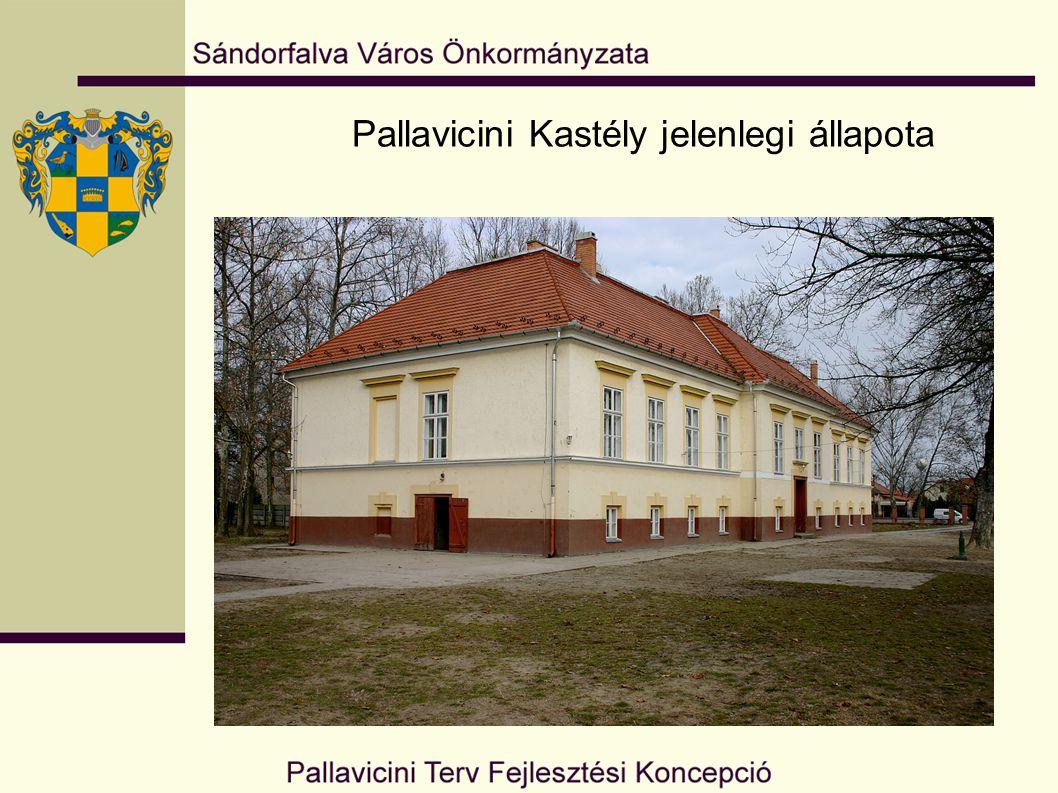 Pallavicini Kastély látványterve