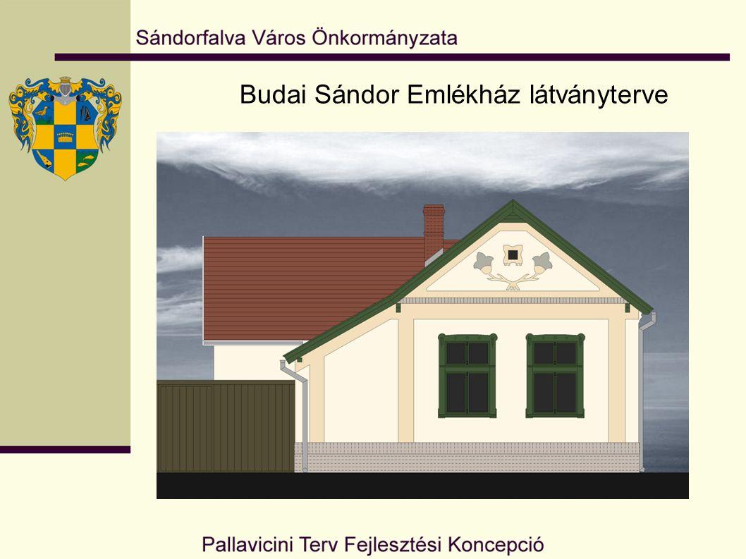 Budai Sándor Emlékház látványterve