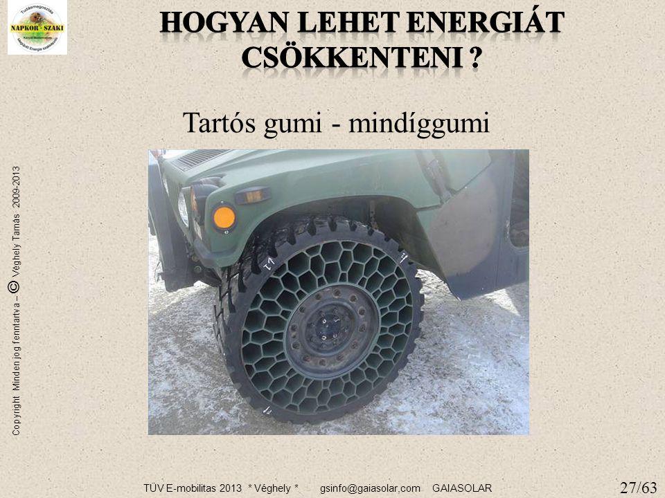 TÜV E-mobilitas 2013 * Véghely * gsinfo@gaiasolar,com GAIASOLAR Copyright Minden jog fenntartva – © Véghely Tamás 2009-2013 26 Hulladék kezelés haszno
