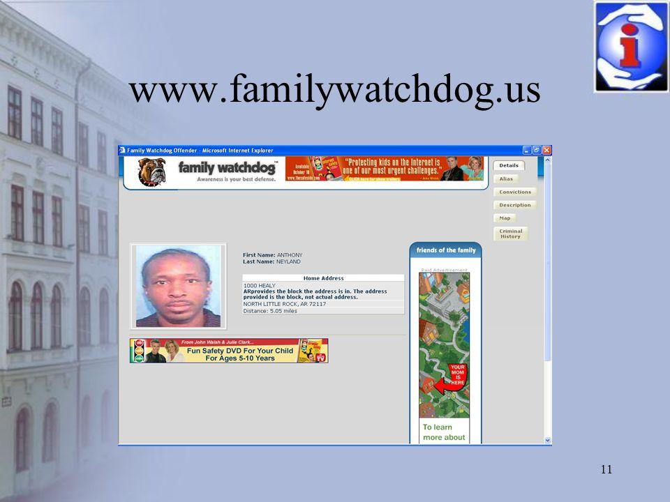 11 www.familywatchdog.us