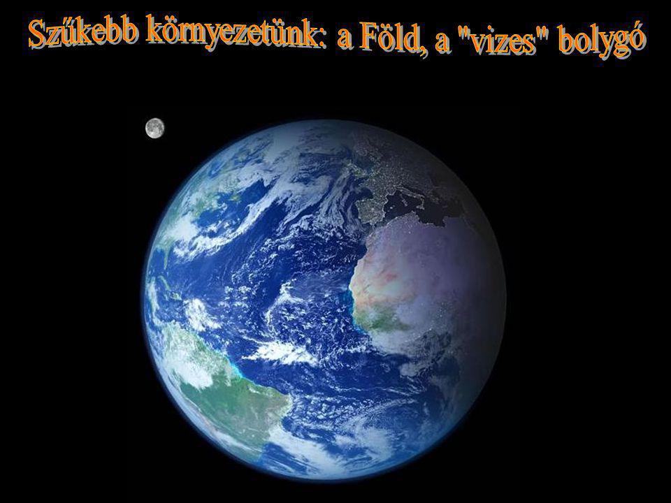 A Föld (A Wikipédiából, a szabad enciklopédiából) A Föld a Naptól számított harmadik bolygó.