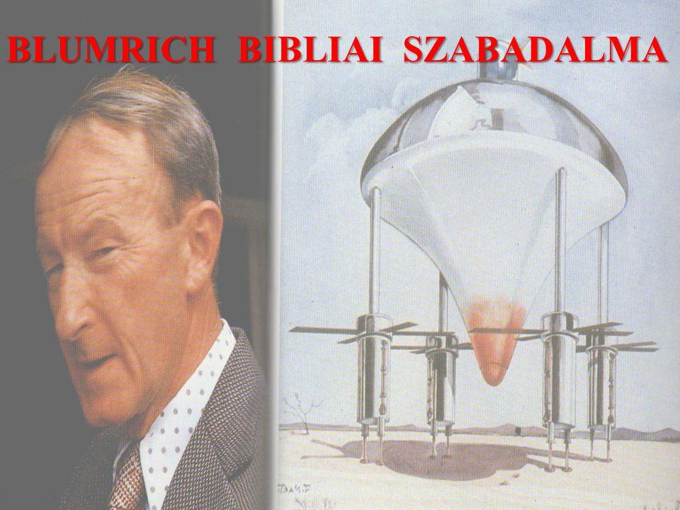 BLUMRICH BIBLIAI SZABADALMA