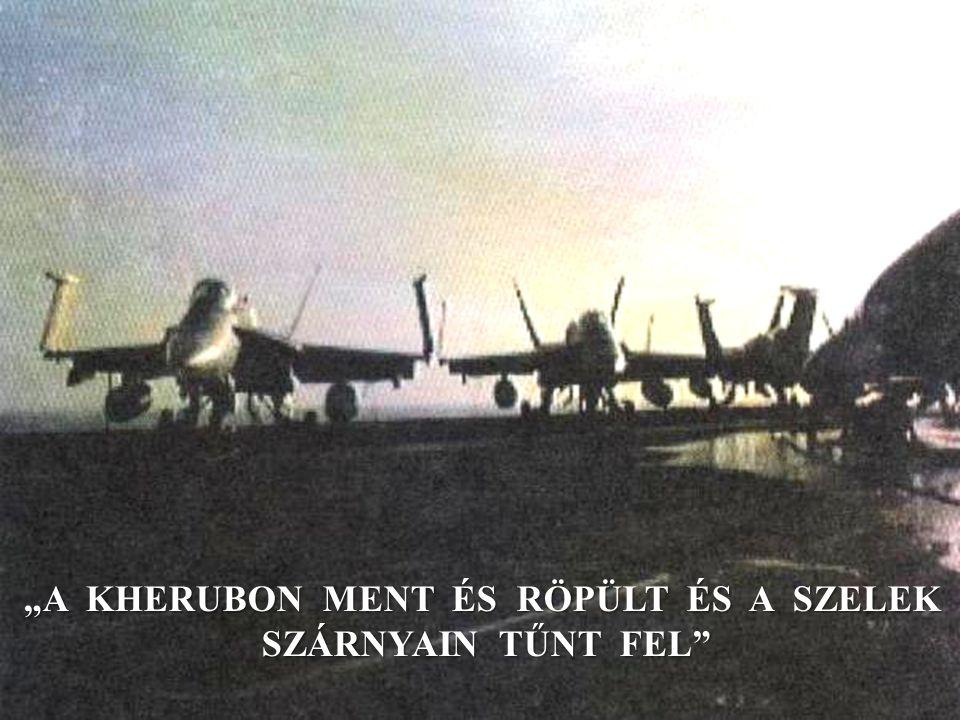 """""""A KHERUBON MENT ÉS RÖPÜLT ÉS A SZELEK SZÁRNYAIN TŰNT FEL"""
