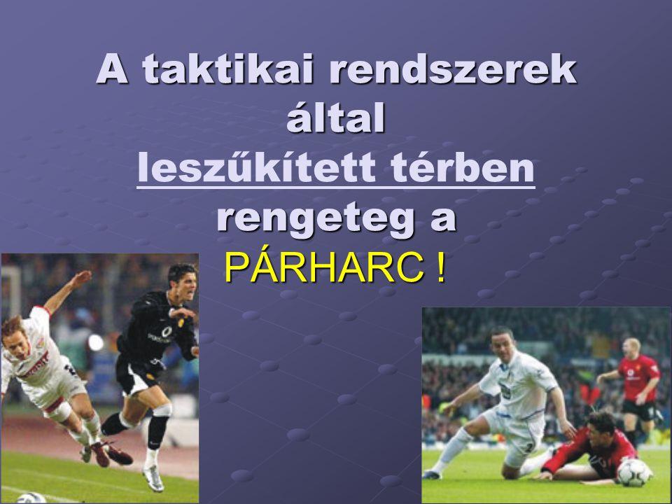 A taktikai rendszerek által rengeteg a PÁRHARC ! A taktikai rendszerek által leszűkített térben rengeteg a PÁRHARC !