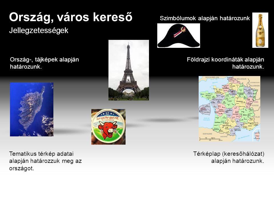 Ország, város kereső Földrajzi koordináták alapján határozunk.