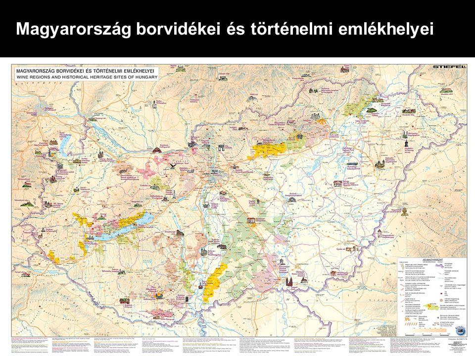 Magyarország borvidékei és történelmi emlékhelyei