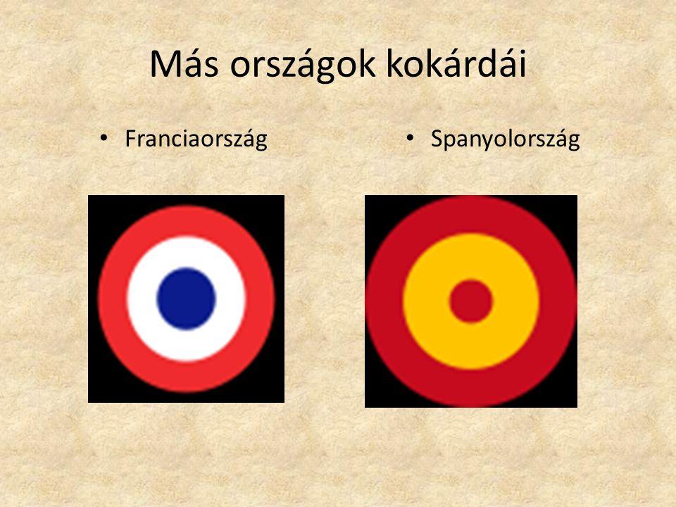 Más országok kokárdái • Franciaország • Spanyolország