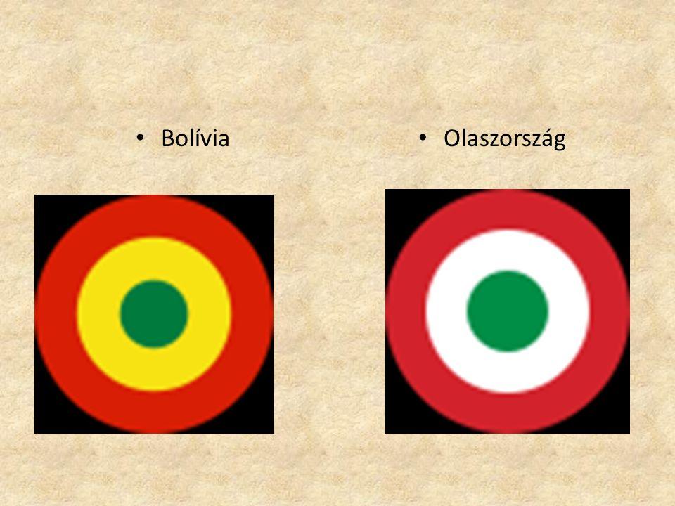 •B•Bolívia •O•Olaszország