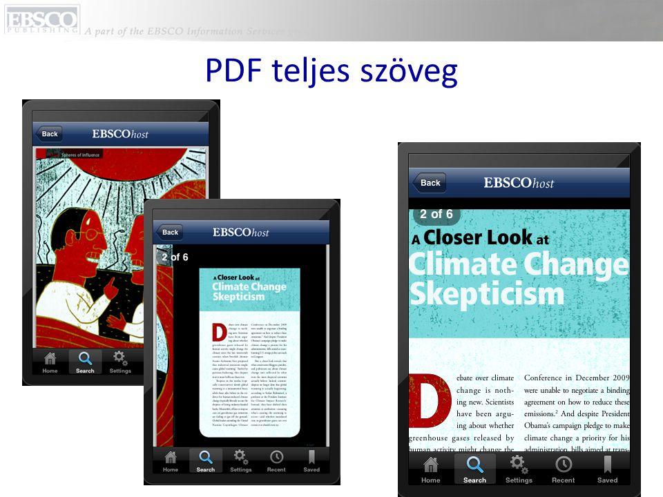 PDF teljes szöveg