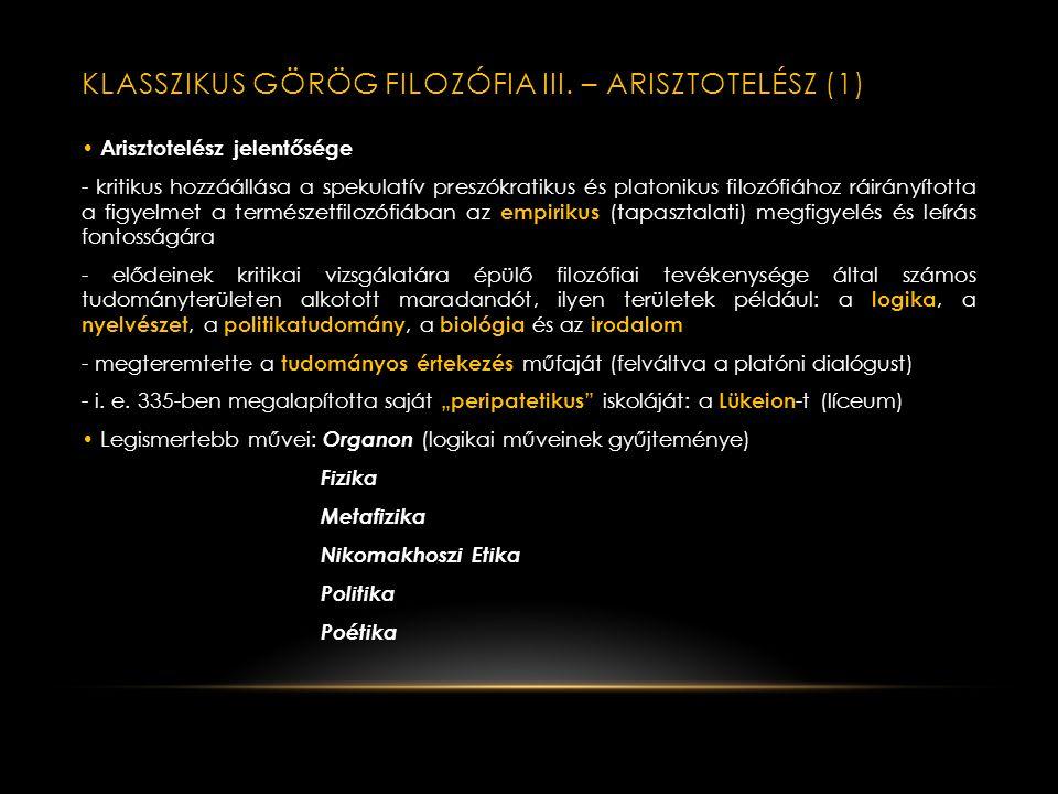 PLATÓN (5): LÉLEKFILOZÓFIA-ÁLLAMELMÉLET • Az Állam című dialógusban Platón párhuzamba állítja az állam és a lélek felépítését. A lélekrészek hármas ta