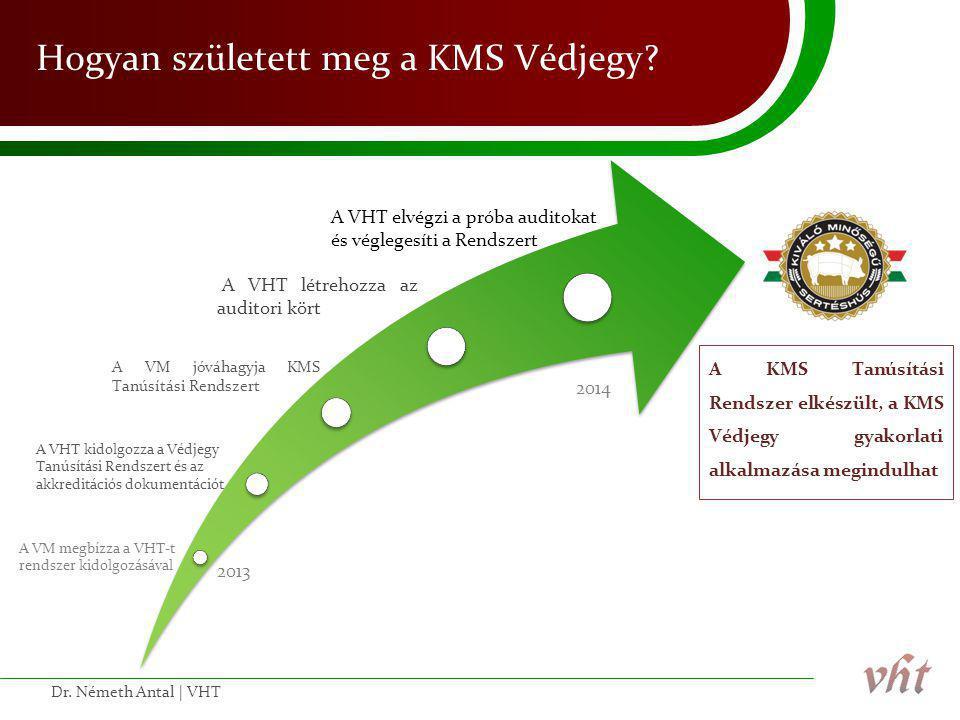 Hogyan született meg a KMS Védjegy? Dr. Németh Antal | VHT A KMS Tanúsítási Rendszer elkészült, a KMS Védjegy gyakorlati alkalmazása megindulhat A VM