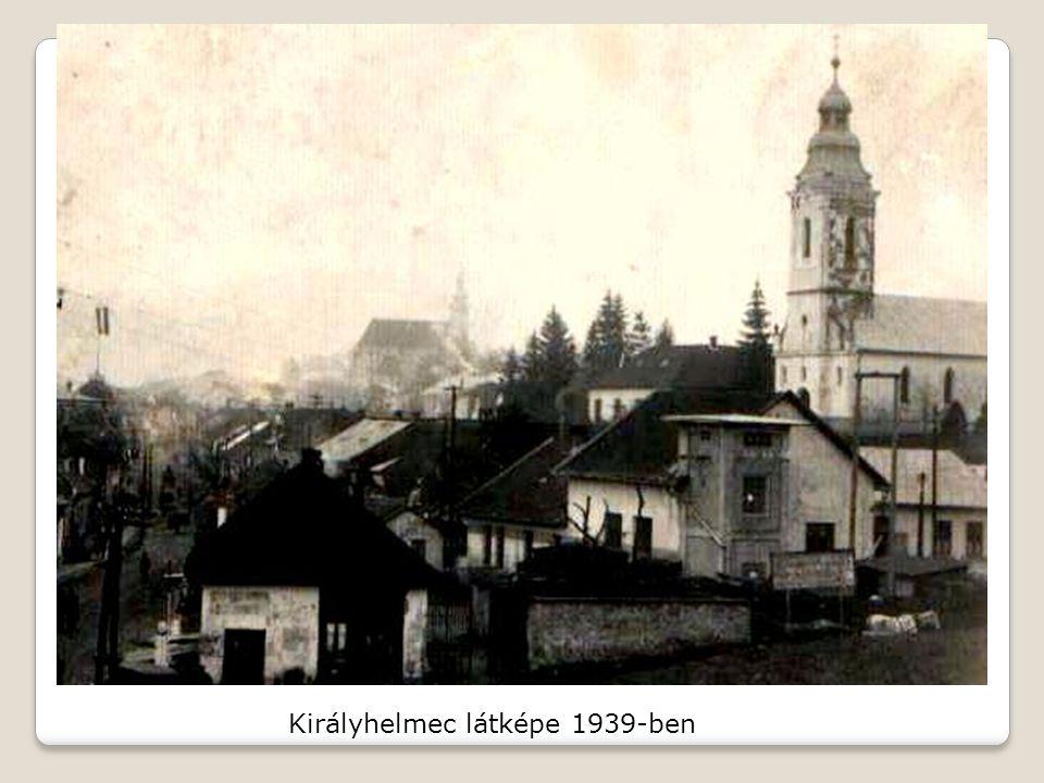 Királyhelmec látképe 1939-ben