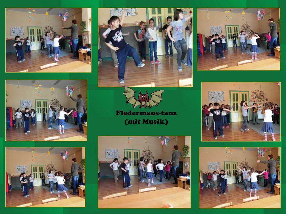 Fledermaus-tanz (mit Musik)