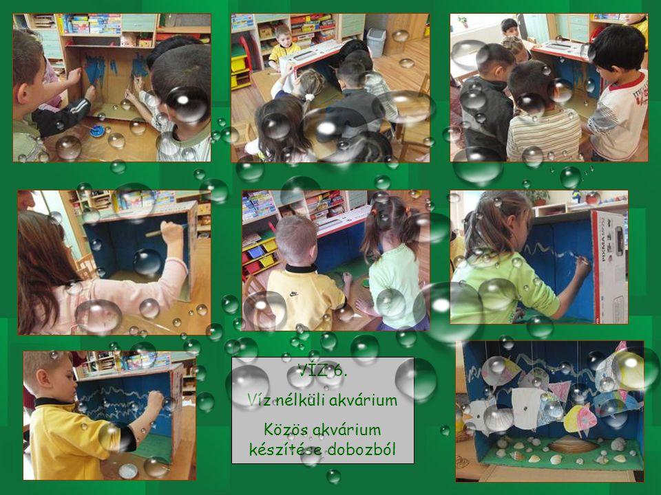 VÍZ 5. kiegészítése Papírhalak készítése (gémkapocs a szájához)